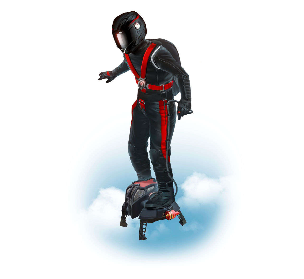 The New Invention Flyboard 174 Air Ocean Style