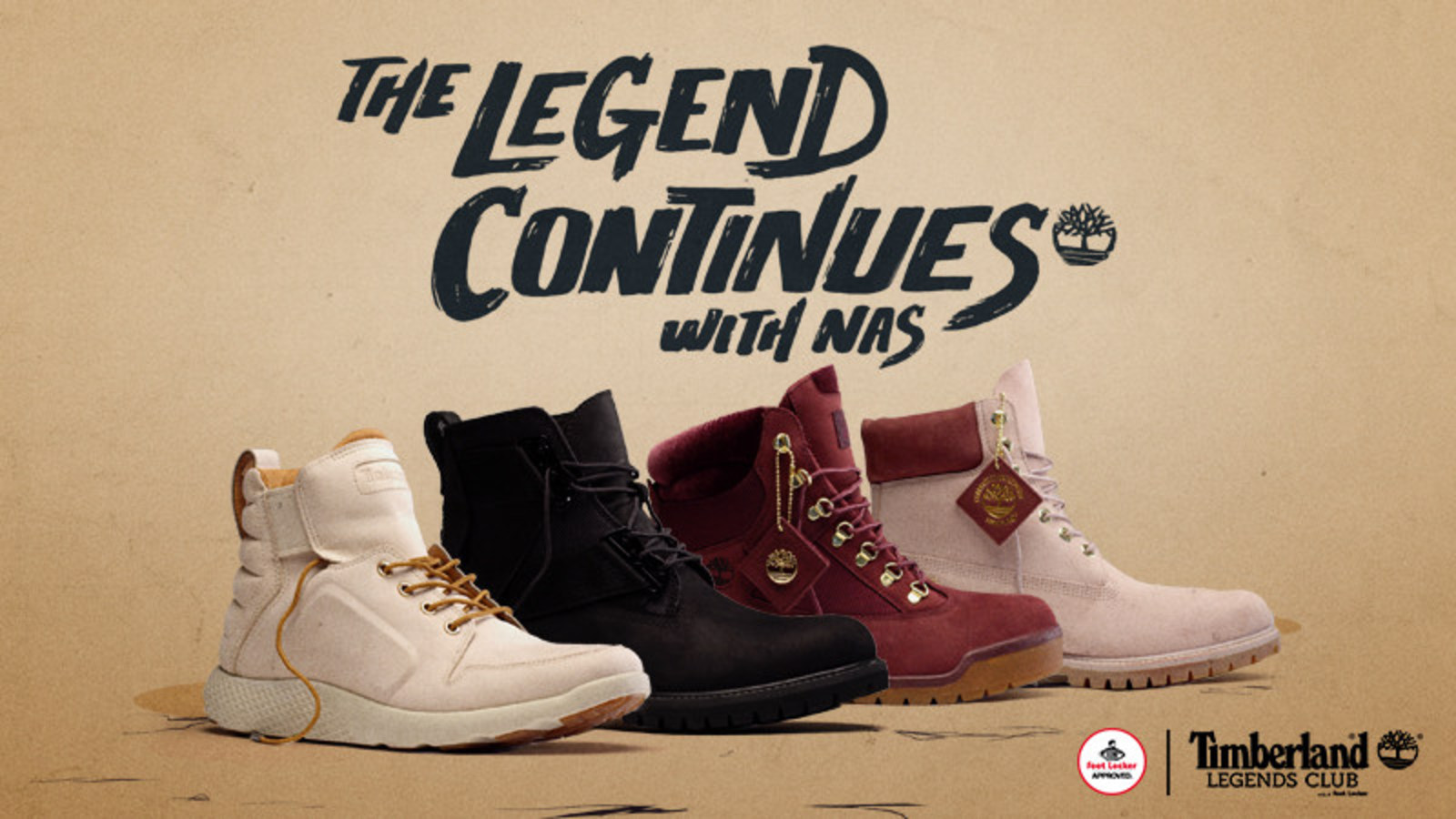 857816289fd7 Foot Locker And Timberland Team Up With Hip-Hop Legend Nas To Launch ...